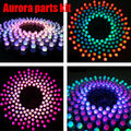 Free Shipping High Quality DIY Electronic Aurora Kit RGB LED Flashing Kit parts kit