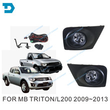 2009-2014 L200 FOG LAMP SET FOR MITSUBISHI PICKUP 2006 FOG LAMP WIRE SWITCH TRITON FOG LAMP COVER 2015-NOW