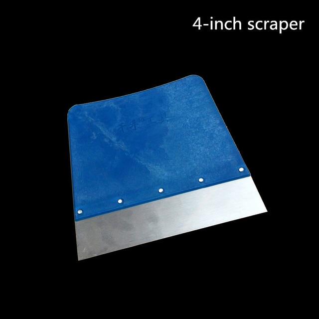 Practical Plastic Wallpaper Scraper Floor Window Wall Razor Putty Knife Scraper drywall decorative paint construction tool
