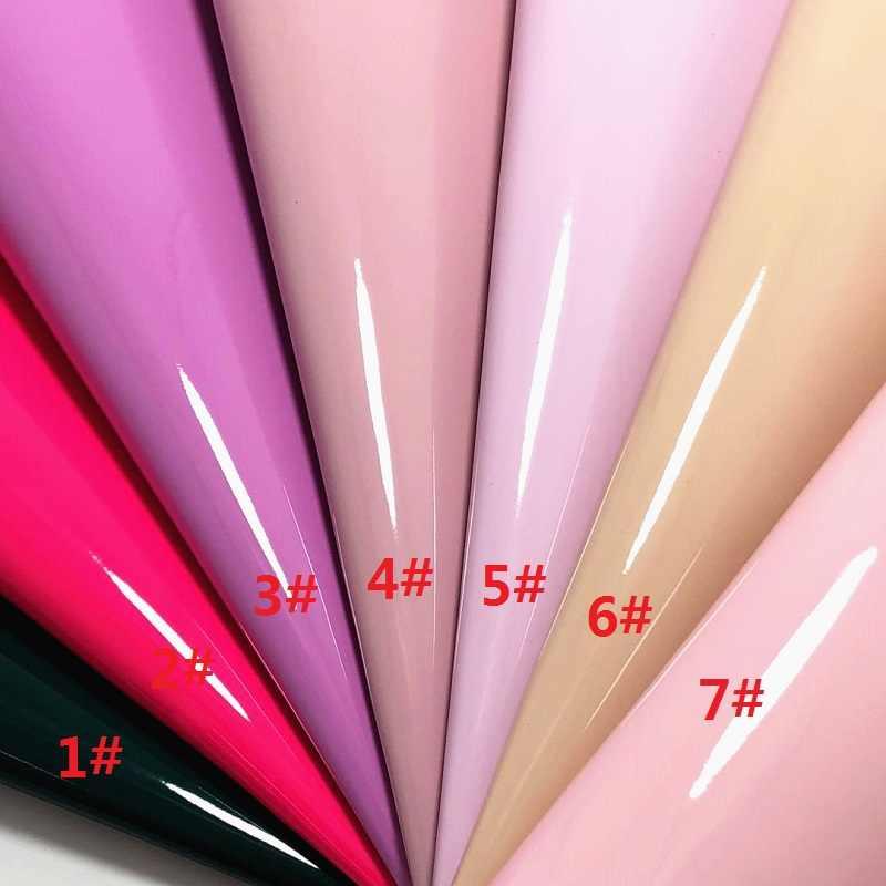 1 pçs a4 tamanho 21x29cm alisa glitter cuero sintetico couro de patente diy cabelo accessroies artesanato couro para diy g17b