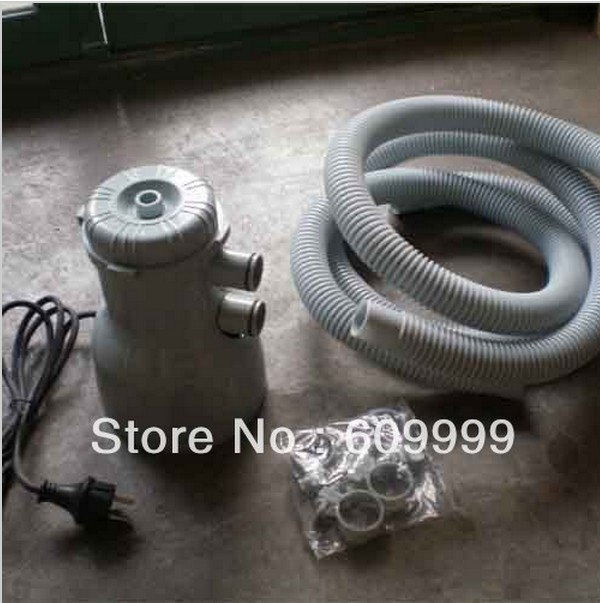 Filter with pipes and seals