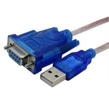 USB RS 232 adaptör USB RS 232 seri kablo dişi port switch USB Seri DB9 kadın seri kablo USB to COM