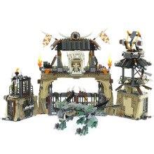 Лепин 06082 новые игрушки 1859 шт. Ninjago серии Legoinglys 70655 Дракон боксе набор строительных блоков Кирпичи детей игрушки рождественские подарки