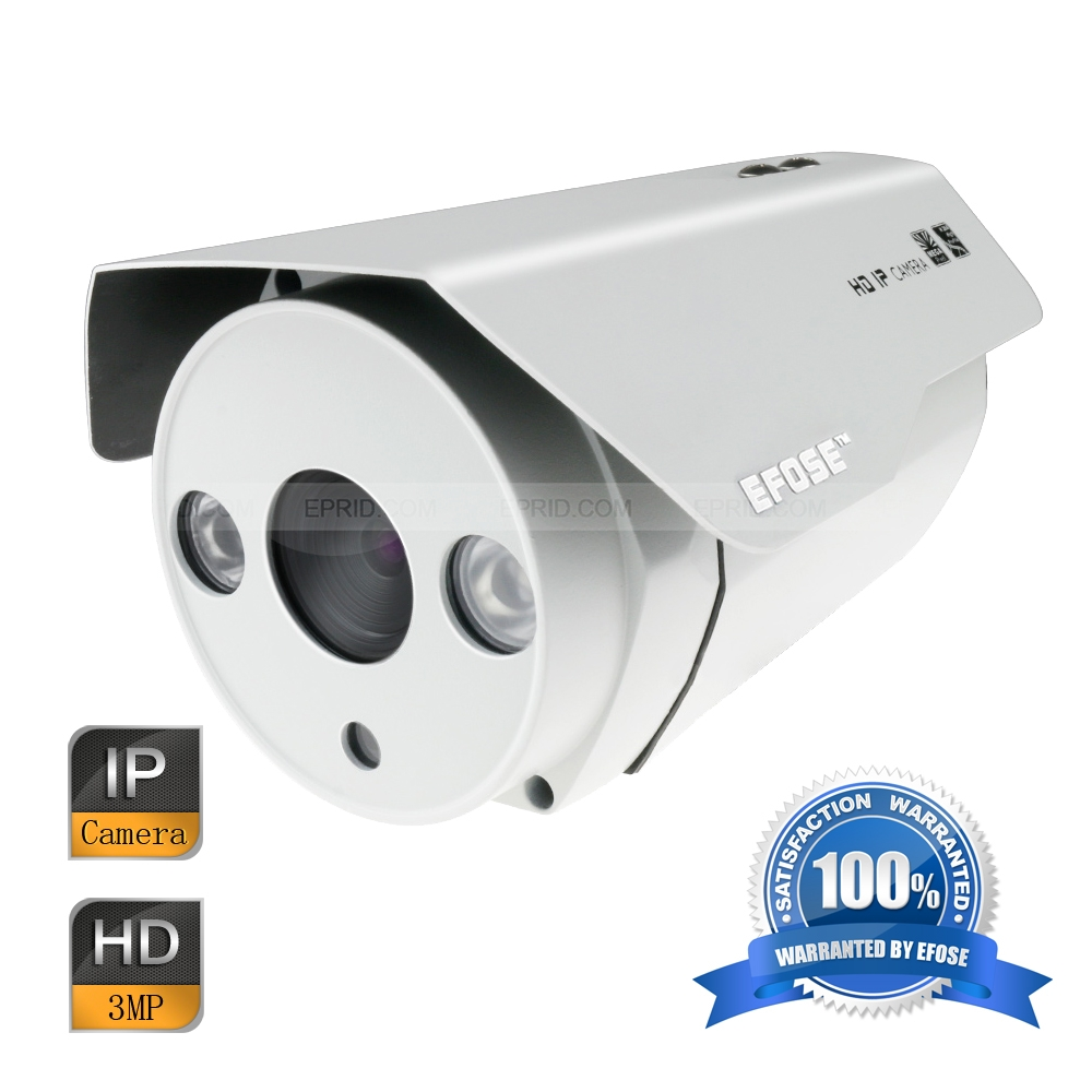 EFOSE FO-3IB321-N   3MP Full HD Network IR Bullet Camera 1/3 CMOS Outdoor HD 1080P Array IREFOSE FO-3IB321-N   3MP Full HD Network IR Bullet Camera 1/3 CMOS Outdoor HD 1080P Array IR