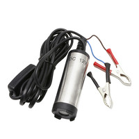 New 1 PCS DC 12V Stainless Steel Submersible Diesel Fuel Water Oil Pump 12L Per Minute