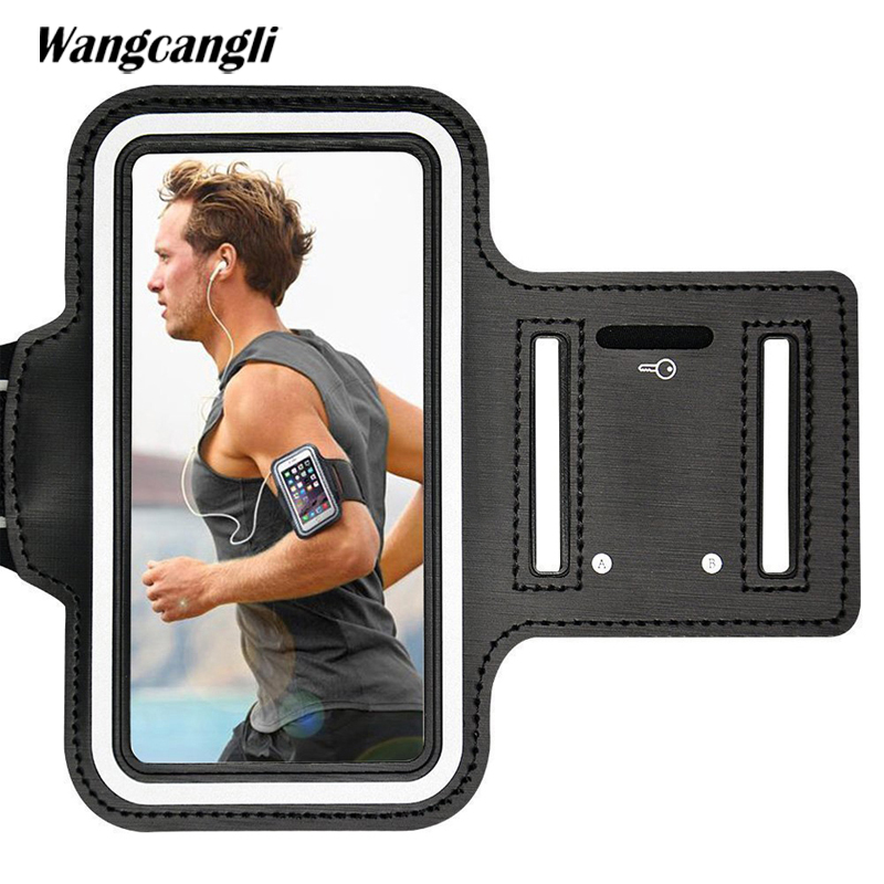 Wangcangli Sport armband case mobile phone holder for running smartphone cell phones women's handbags sports sling for mobile