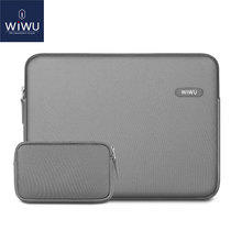 WiWU Laptop Sleeve for MacBook Air Pro 13 15 inch Waterproof Neoprene Bag Case Xiami Notebook 14