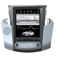10.4'' Tesla style Android 9.0 Car dvd player GPS Navigation For Toyota RAV4 RAV 4 2006 2012 head unit stereo multimedia radio
