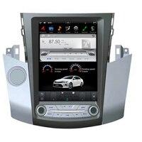 Android 9.0 Tesla style Car No CD DVD Player GPS Navigation For TOYOTA RAV4 2006 2012 Auto stereo headunit multimedia radio