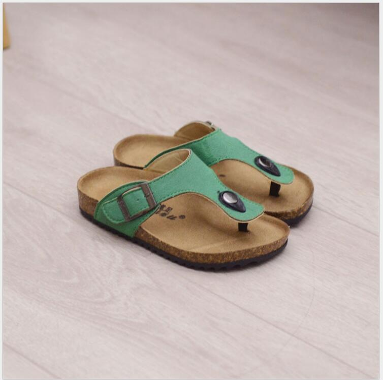 qloblo Summer Boys Sandals New 2018 Kids Beach Shoes Velcr Sports High Quality PU Rubber Children Kids Sandals Sandale Fille
