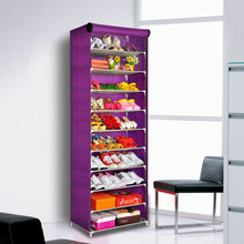 Ya simple dust shoe cupboard single row of large capacity reinforcement assembly thick multilayer storage