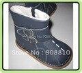 Детские мягкие кожаные ботинки мальчиков обувь вмф пряжки ботинки снега зимой новое прибытие розничная и оптовая торговля
