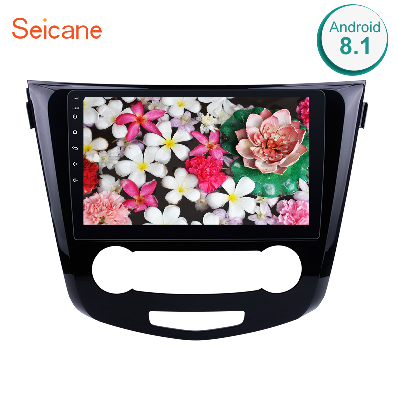 Seicane 10 1 Android 8 1 Car Radio WIFI Bluetooth Multimedia Player GPS For 2016 Nissan