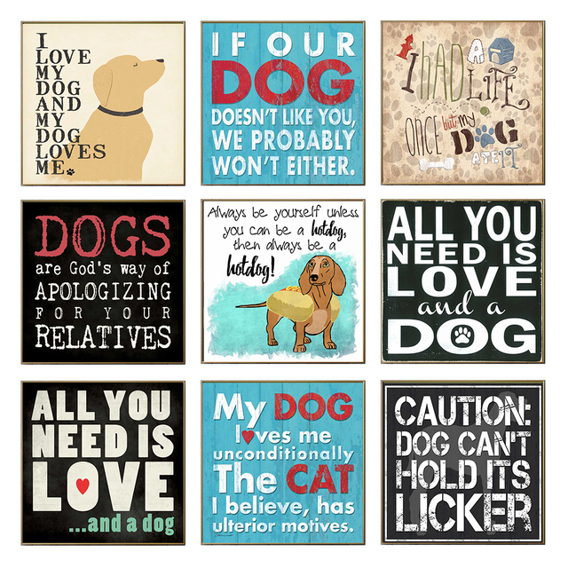 Funny Dog Rules Love Dog Quotes Posters And Prints Wall