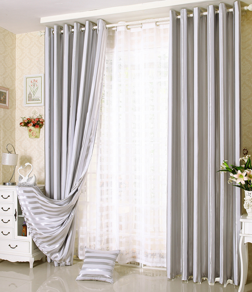 bedroom balcony yarn anself sheer decoration room living p leaves elegant knitting curtains door voile kitchen window jacquard hotel for warp tulle