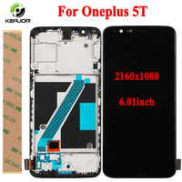 Phone Lcd For Oneplus 5T Display Touch Screen With Frame Digitizer Assembly Replacement Screen For One plus 5T 5.01 Phone Part