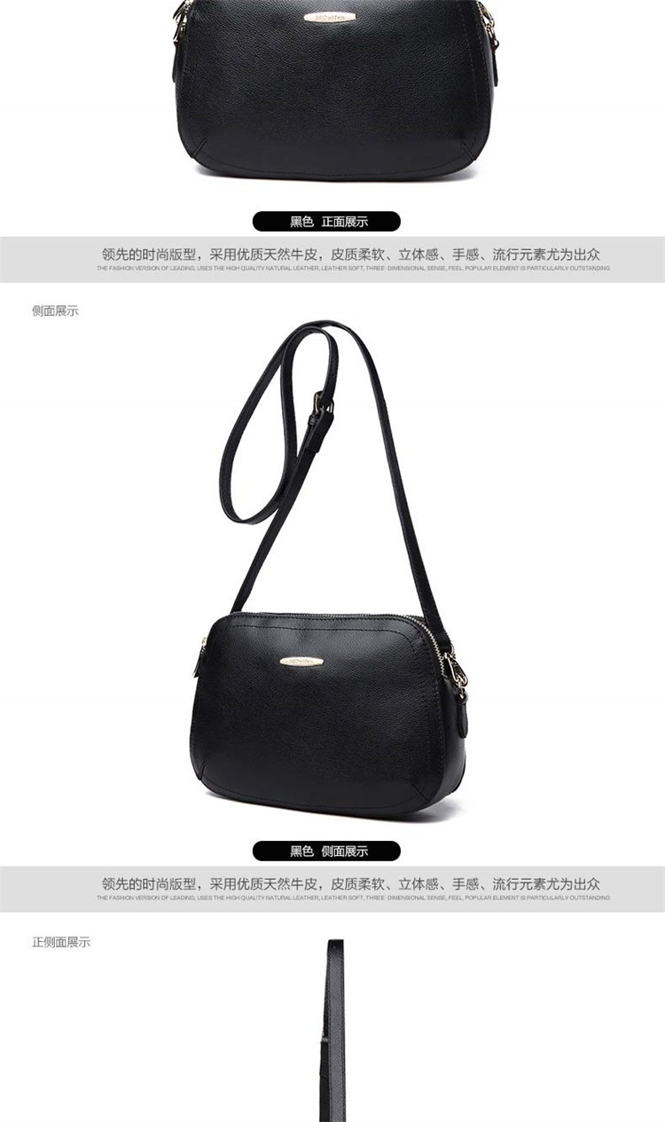 New 2015 Fashion Women Genuine Leather Messenger Bag Shoulder Bags Crossbody  Bolsos Carteras Mujer Marca Handbags Famous Brands12