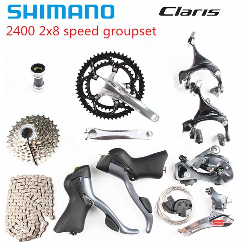 Groupe de vélo de route shimano Claris 2400 2x8 vitesses