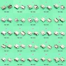 ChengHaoRan 25 modelos 25-125 pçs/lote 5P 5pin Micro USB Jack USB Tomada de Carregamento do Conector SMD DIP V8 Porto de Carregamento de Dados Cabo de alimentação