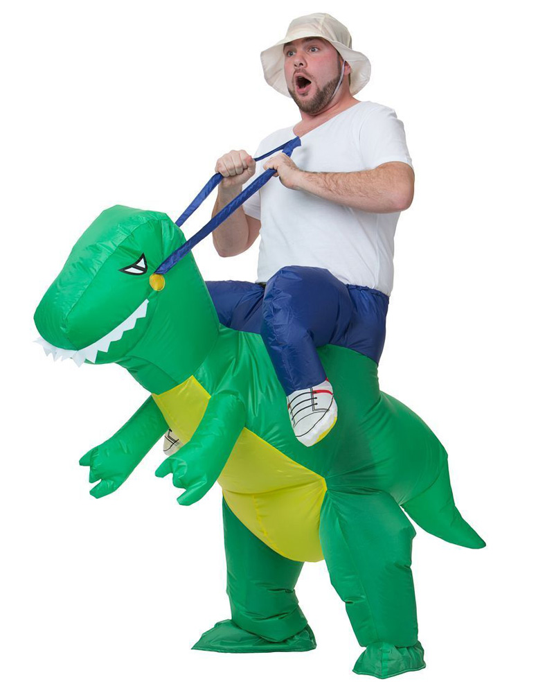 Aliexpress.com : Buy Blue Red Green Colorful Inflatable Dinosaur ...