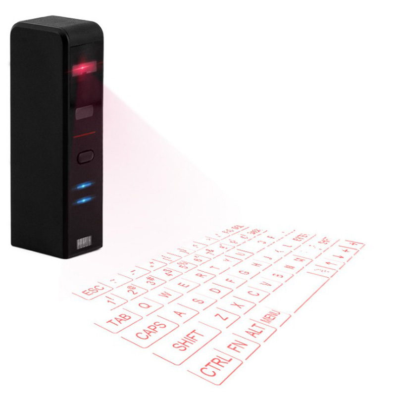 Bluetooth Virtual Laser Keyboard Wireless Projection keyboard Portable for Android Smart Phone pad Tablet PC Notebook chuyi virtual laser projection mini keyboard bluetooth wireless keyboard for iphone macbook air pc tablets notebook computer