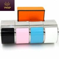 YWXP 33mm De Luxe En Acier Inoxydable Manchette Large Bracelets & Bangles Bracelet Émail Bracelet H Conception Classique Marque Bracelets XP008