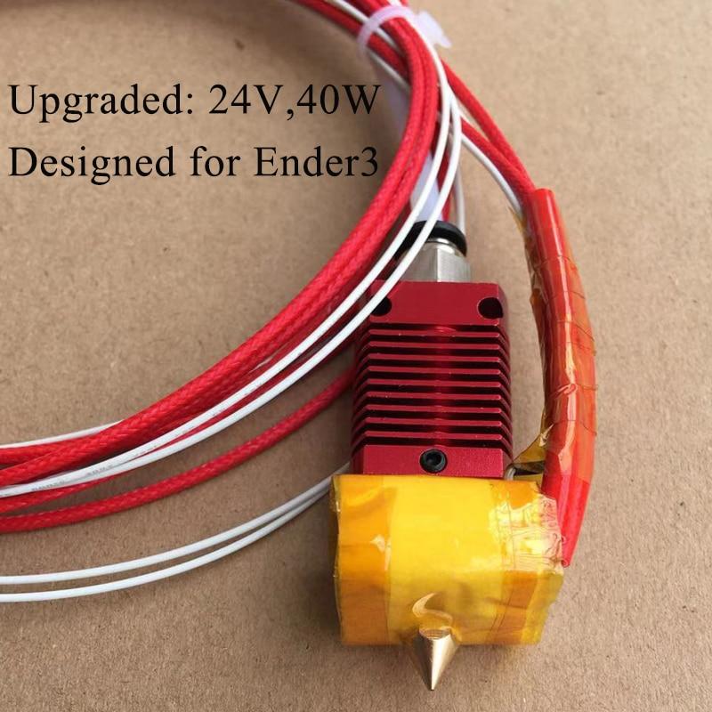 Full Metal MK10 ender 3 hotend 12V 24V J-head 3D Printer Hotend for Ender 3 CR10S Pro ender 5 Prusa I3 Kits 3D Printer Parts