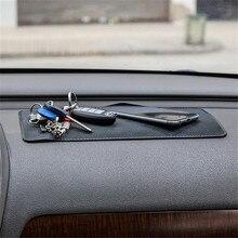 Новый Универсальный Автомобиль Стайлинг Автомобиля Anti-Slip Dashboard Важная Pad Номера Коврик Для Телефон Монета Солнцезащитных Держатель