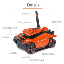 Global Drone Smart RC Tank Wifi FPV Camera App Control Voiture Telecommande Robot Toys Tank RC Car Toys for Boys