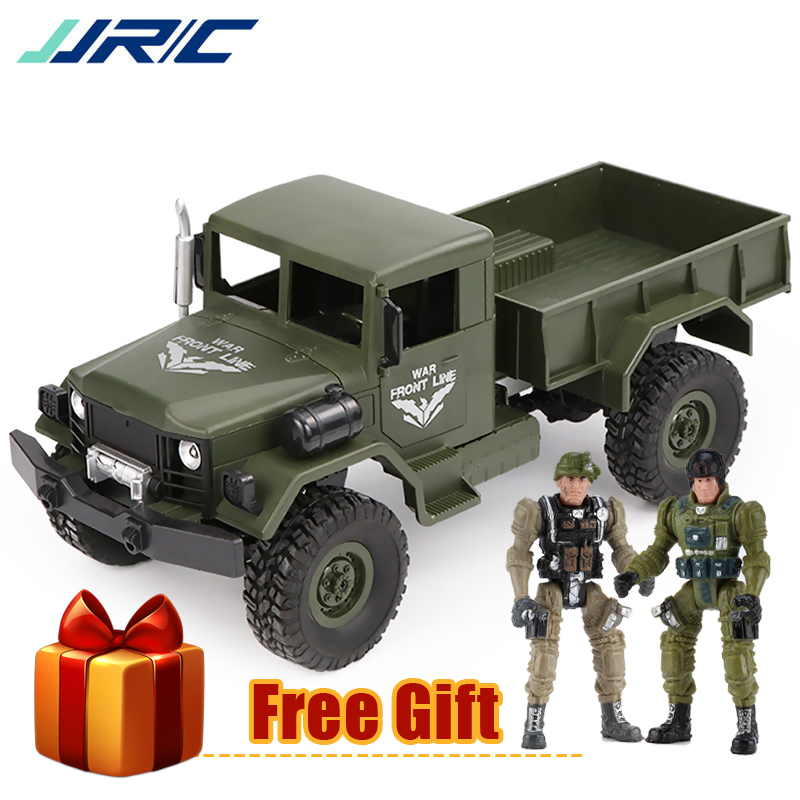 JJR/C JJRC Q62 1:16 4WD Off-Road Military Trunk Crawler RC Car Remote Control Off-Road Toys for Boy Birthday Gift Buggy MachineJJR/C JJRC Q62 1:16 4WD Off-Road Military Trunk Crawler RC Car Remote Control Off-Road Toys for Boy Birthday Gift Buggy Machine