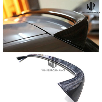 F20 Rear Roof Lip Spoiler Wing High Quality Carbon Fiber for BMW 1 Series F20 Car Body Kit 2012-2016 image