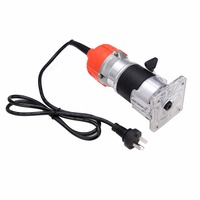 1 4 Electric Wood Trimmer Laminator Router Joiners Tool 110V 750W 35000PRM Mayitr Woodworking Power Tool