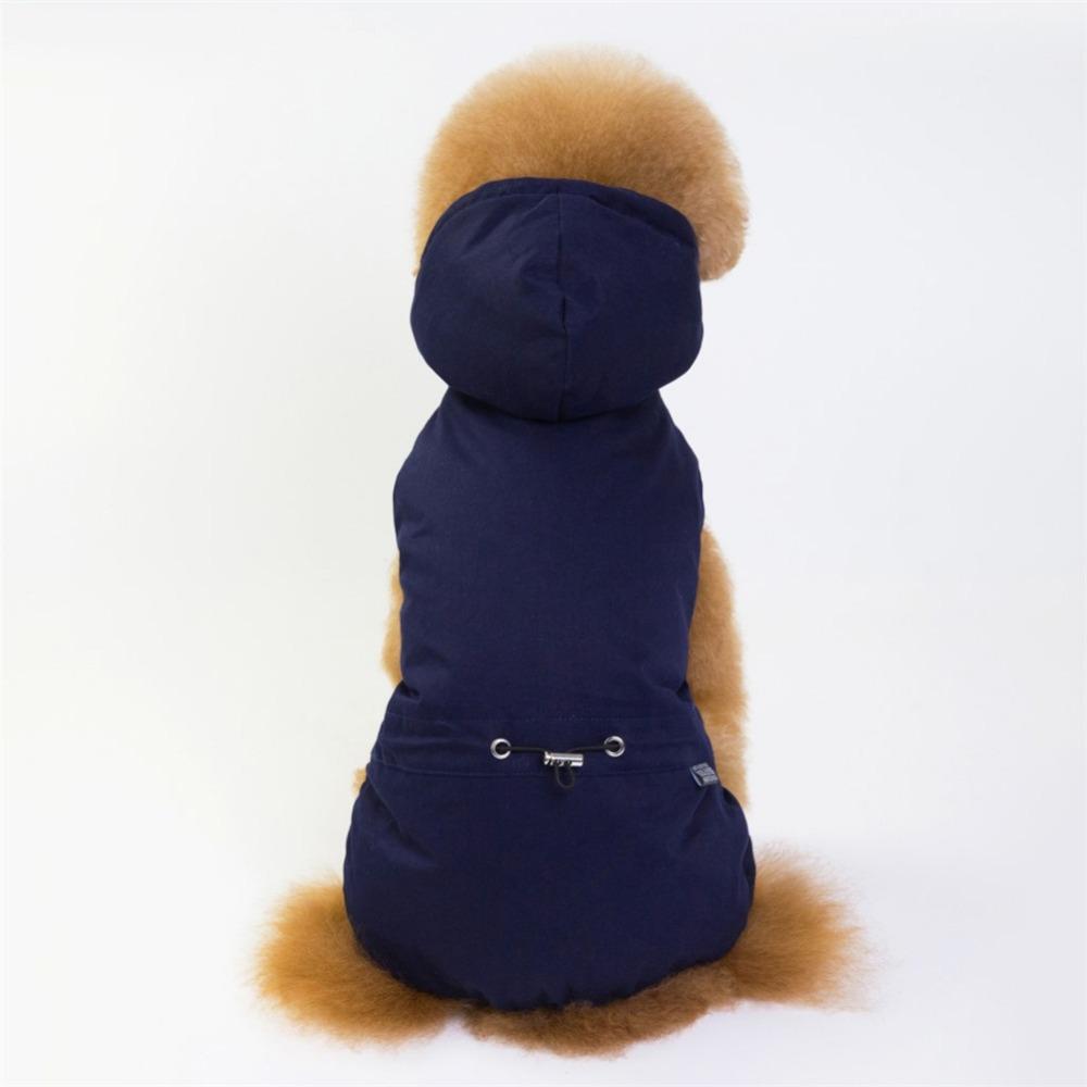 Cálido abrigo para cachorros y perros pequeños 4