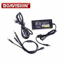 12 В в 5A 4CH питание CCTV камера мощность коробка 4 порты и разъёмы DC + косичка пальто питание от напряжения постоянного тока 12 V адаптер