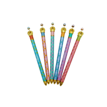 30ชิ้น/ล็อตใหม่หวานมงกุฎโลหะซีรี่ส์เจ้าหญิงปากกาสำหรับนักศึกษาNiceของขวัญรางวัลโรงเรียนอุปกรณ์สำนักงาน