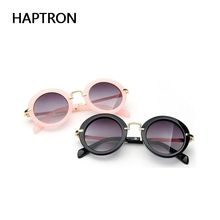 Round Fashion protective Sunglasses For Kids