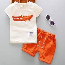 Cartoon Cotton Summer Clothing Set
