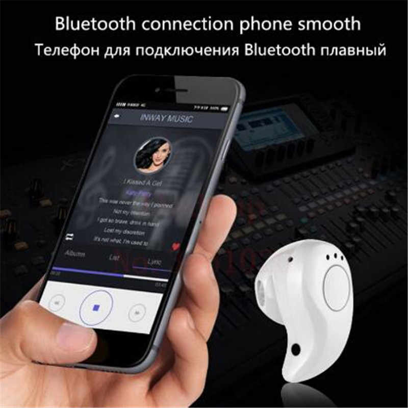 S530 بلوتوث لاسلكي مصغر سماعة في الأذن الرياضة مع هيئة التصنيع العسكري سماعات يدوي سماعة سماعات الأذن سماعة آيفون 7 8 X