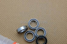 Boutique model bearing MR117-2RS MR117RS 7 * 11 * 3 mm double-sided adhesive cover ball bearings(China)