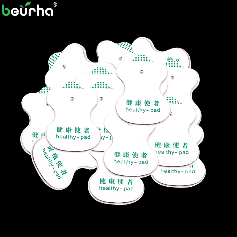 New 20 pieces Stimulator Electrode Pads Gel Electrode Pads for Digital Tens Acupuncture Digital Therapy Machine Massager leravan mi home snap on electrode pads 2pcs