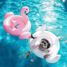 Baby Flamingo Swan Swimming Float Seat Inflatable Pool Float Baby Summer Water Fun Pool Toys Gifts Kids Swimming ring 0-4 year 2019 baby swimming ring water circle baby float inflatable summer kids float seat swimming baby float pool water fun toys