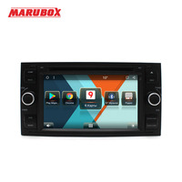 MARUBOX 7A601MT8,Car DVD Player GPS Radio For Ford Focus 2,2004 2008 Android 8.1,Mondeo Transit C Max Fiesta,2GB RAM, 32GB ROM