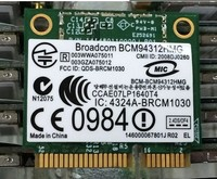 SSEA Wholesale New for Broadcom BCM4312HMG half mini PCI-E Wireless Wifi Card Free Shipping