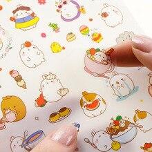 Корейский милый стикер блокнот DIY Украшение липкий альбом дневник Скрапбукинг наклейка для детей канцелярские наклейки