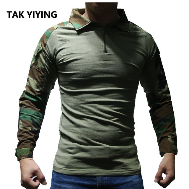 TAK YIYING Heat Resistant Tactical Long Sleeve Lightweight Outdoor ...