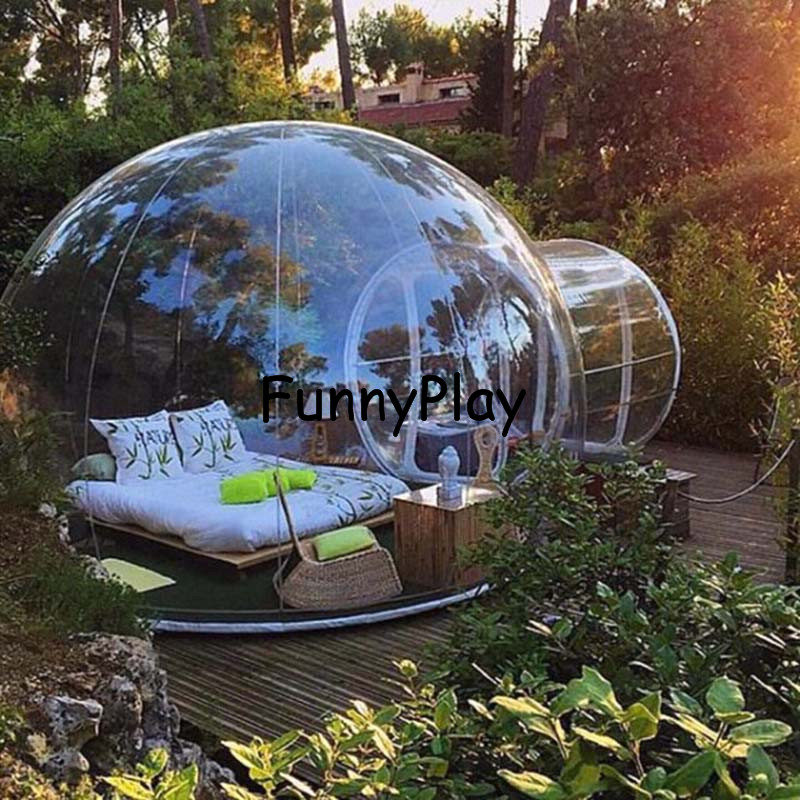 inflatable bubble tent inflatable lawn dome hiking tents inflatable transparentcamping tents. Black Bedroom Furniture Sets. Home Design Ideas