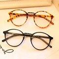 Retro Rodada óculos de Leitura Óculos Computador Miopia Quadro Das Mulheres Dos Homens Do Vintage Óculos de Armação Marca de Óculos Oculos de grau Femininos