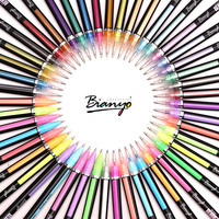 Bianyo Gel Pens 36 48 Colors Cute Colorful Pens School Office Supplies Student Artist Stationery Painting