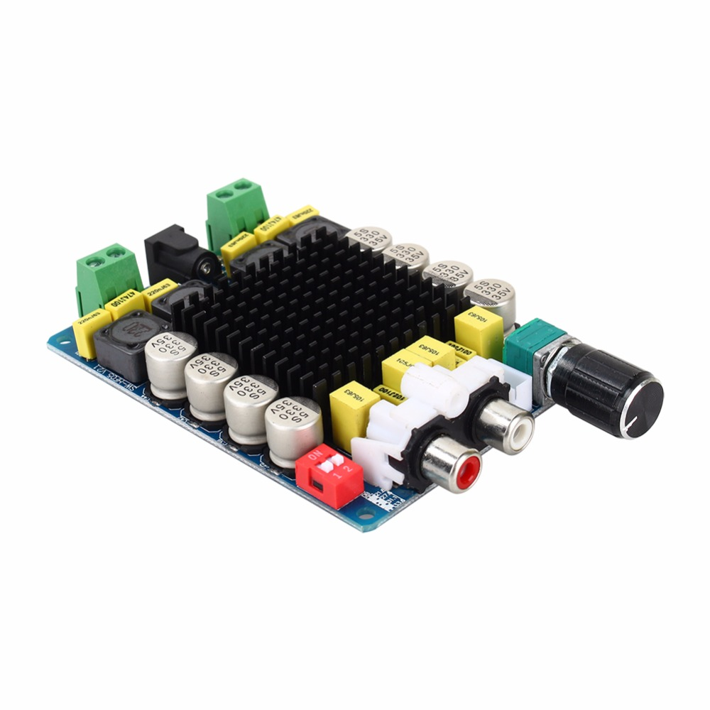 Amplificateur numérique Conseil de TDA7498 Classe D 2X100 W Double Canal Amplifie Audio Stéréo 80 W + 80 W Amplificateur Numérique Conseil Module