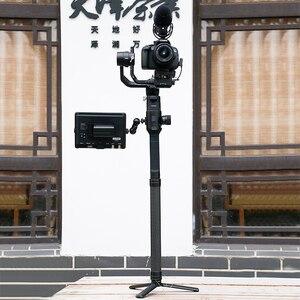 Image 5 - 1 ADET Karbon Fiber uzatma çubuğu Kutup DJI Ronin için S Aksesuar Feiyutech G5 G6 Zhiyun Vinç 2 3 Weebill Lab uzatma Teleskopik Çubuk